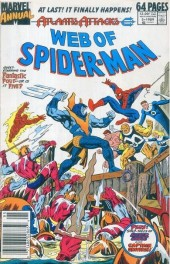 Web of Spider-Man (1985) -AN05- Atlantis Attacks: Warzone: New York!