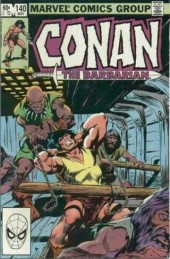 Conan the Barbarian Vol 1 (Marvel - 1970) -140- Spider isle