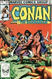 Conan the Barbarian Vol 1 (Marvel - 1970) -141- The web tightens
