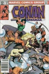 Conan the Barbarian Vol 1 (Marvel - 1970) -143- Life among the dead