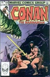 Conan the Barbarian Vol 1 (Marvel - 1970) -144- The blade and the beast