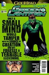 Green Lantern Vol.5 (DC Comics - 2011) -35- Godhead, Act I, Part II: Dead Worlds
