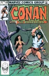 Conan the Barbarian Vol 1 (Marvel - 1970) -148- The plague of forlek