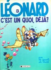 Léonard -3c1988- Léonard, c'est un quoi, déjà ?