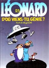 Léonard -25a1999- D'où viens-tu, génie ?