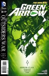 Green Arrow (2011) -31- The Outsiders War, Book 6: Spoils of War