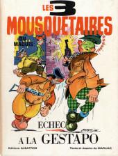 Les 3 Mousquetaires du Maquis -1- Echec à la Gestapo