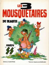 Les 3 Mousquetaires du Maquis -2- Les 3 mousquetaires du maquis contre SS