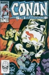 Conan the Barbarian Vol 1 (Marvel - 1970) -151- Vale of death!