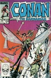 Conan the Barbarian Vol 1 (Marvel - 1970) -153- The bird men of Akah Ma'at!