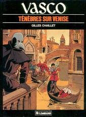 Vasco -6- Ténèbres sur Venise