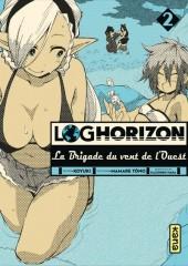 Log Horizon - La brigade du vent de l'ouest -2- Tome 2