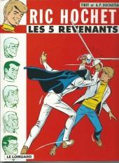 Ric Hochet -10b00- Les 5 revenants