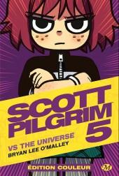 Scott Pilgrim (Édition couleur) -5- Vs the universe