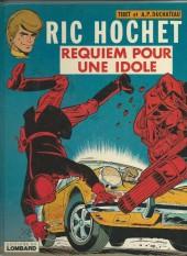 Ric Hochet -16a79- Requiem pour une idole