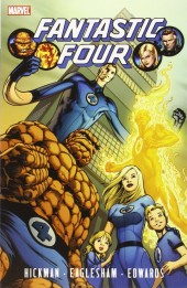 Fantastic Four (1961) -INT- Fantastic Four by Jonathan Hickman - Vol. 1
