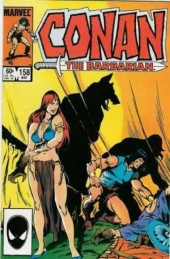 Conan the Barbarian (1970) -158- Night of the wolf