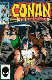 Conan the Barbarian Vol 1 (Marvel - 1970) -160- Veil of darkness!