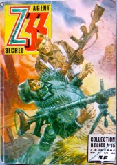 Z33 agent secret -Rec15- Collection reliée N°15 (du n°57 au n°60)