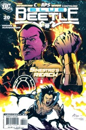 Blue Beetle (2006) -20- Sinestro's reach - Fear to live