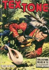 Tex-Tone -Rec75- Collection reliée N°75 (du n°474 au n°477)