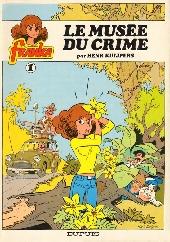 Franka (Dupuis) -1- Le musée du crime