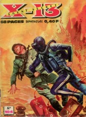X-13 agent secret -104- Un chimiste explosif