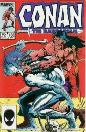 Conan the Barbarian (1970) -168- The bird-woman and the beast!