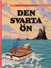 Tintin (en langues étrangères) -7Suédois- Den Svarta Ön