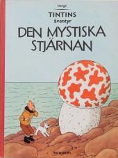 Tintin (en langues étrangères) -10Suédois- Den Mystiska Stjarnan