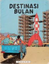 Tintin (en langues étrangères) -16Malais- Destinasi Bulan