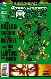 Green Lantern Corps (2011) -35- Godhead, Act I, Part III: Reckoning