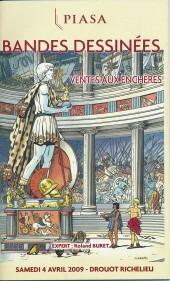 (Catalogues) Ventes aux enchères - Piasa - Piasa - Bandes dessinées - samedi 4 avril 2009 - Paris Drouot-Richelieu