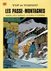 Tif et Tondu -27b1986- Les passe-montagnes