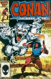 Conan the Barbarian Vol 1 (Marvel - 1970) -181- Maddoc's reign