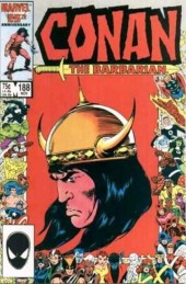 Conan the Barbarian Vol 1 (Marvel - 1970) -188- The killing season