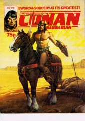 Savage Sword of Conan The Barbarian (The) (Marvel UK) -82- The colossus of Shem