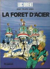 Luc Orient -5c86- La forêt d'acier