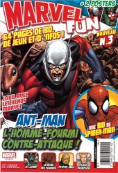 Marvel Fun -3- ANT-MAN l'homme fourmi contre-attaque