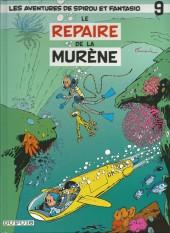 Spirou et Fantasio -9Pub2- Le Repaire de la murène