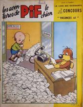 Pif le chien (3e série - Vaillant) -39- 3e série T.39