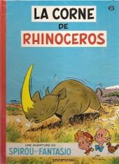 Spirou et Fantasio -6c1985- La corne de rhinocéros