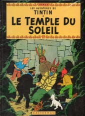 Tintin (Historique) -14C4- Le temple du soleil