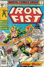 Iron Fist (1975) -14- White snow... White doom !