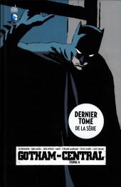 Gotham Central (Urban comics) -4- Tome 4