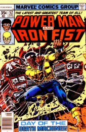 Power Man and Iron Fist (1978) -52- Day of the death machines!