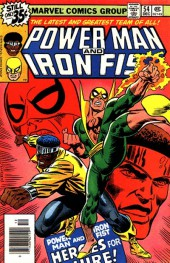 Power Man and Iron Fist (1978) -54- Heroes for hire!