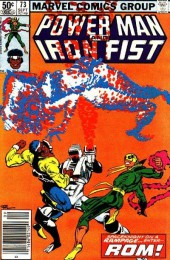 Power Man and Iron Fist (Marvel - 1978) -73- Wraith, Color or Creed