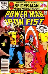 Power Man and Iron Fist (Marvel - 1978) -76- Death Scream of the Warhawk!