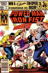 Power Man and Iron Fist (Marvel - 1978) -77- What's Black and White and Red All Over?